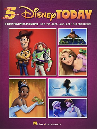 Disney Today: Five Finger Piano Songbook from Hal Leonard
