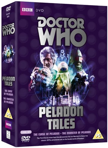 Doctor Who: Peladon Tales (The Curse of Peladon / The Monster of Peladon) [DVD] from 2entertain