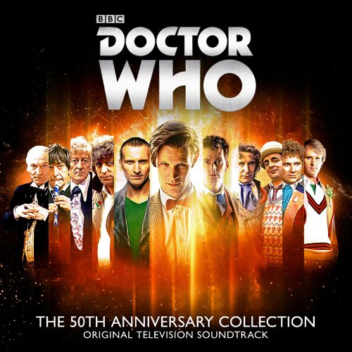 Doctor Who: The 50th Anniversary Collection (4CD) from SILVA SCREEN