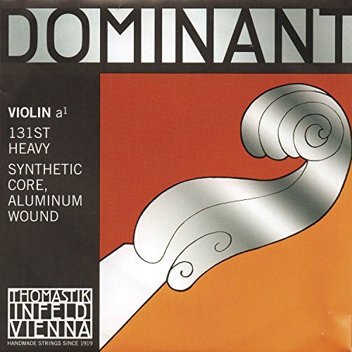 Thomastik Single string for Violin 4/4 Dominant - A-string Synthetic Core, Aluminium Wound, Strong from Thomastik