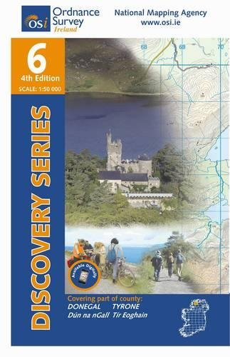 Donegal (Central) - Tyrone (Irish Discovery Series) from Ordnance Survey Ireland