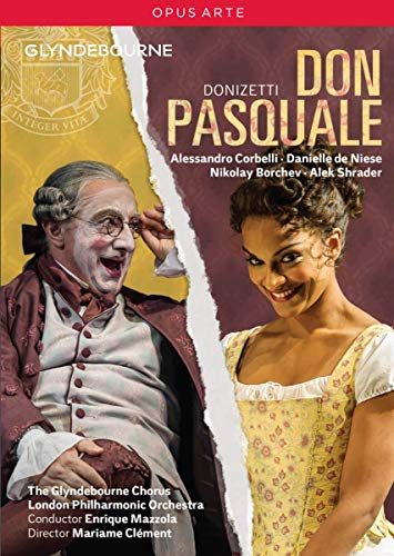 Donizetti: Don Pasquale [Glyndebourne] [Alessandro Corbelli, Danielle de Niese] [DVD] [2014] [NTSC] from Opus Arte