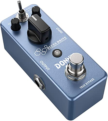 Donner Blues Drive Overdrive Guitar Effect Pedal True Bypass from Donner