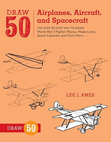 Draw 50 Airplanes, Aircraft, and Spacecraft from Watson-Guptill