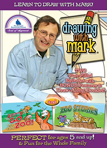 Drawing With Mark: Let's Go to the Zoo/Zoo Stories [DVD] [Region 1] [US Import] [NTSC] from Entertainment One