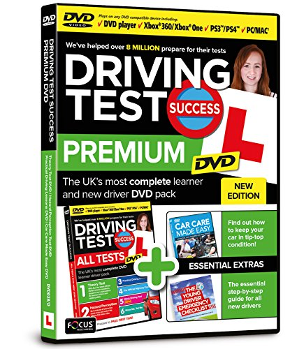 Driving Test Success All Tests DVD Premium from Focus Multimedia Ltd
