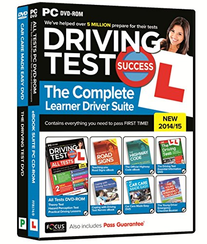 Driving Test Success The Complete Learner Driver Suite 2014/15 (PC) from Focus Multimedia Ltd