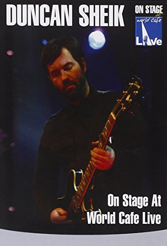 Duncan Sheik - On Stage At World Cafe Live [DVD] from Inakustik
