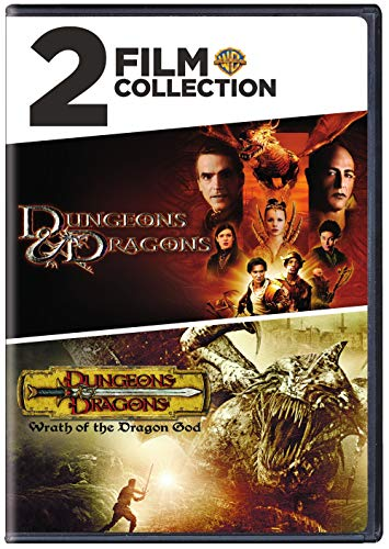 Dungeons & Dragons & Wrath of the Dragon God [DVD] [2009] [Region 1] [US Import] [NTSC] from Warner Manufacturing