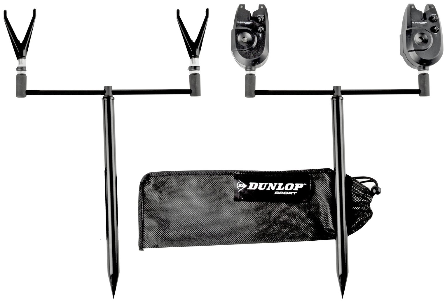 Dunlop Carp Rod Bankside Set with Alarms from Dunlop