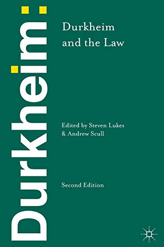Durkheim and the Law from Palgrave