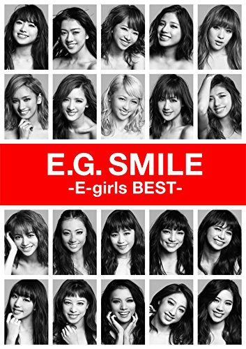 E.G. Smile - E-girls Best - [2CD+3DVD] from Jap Import