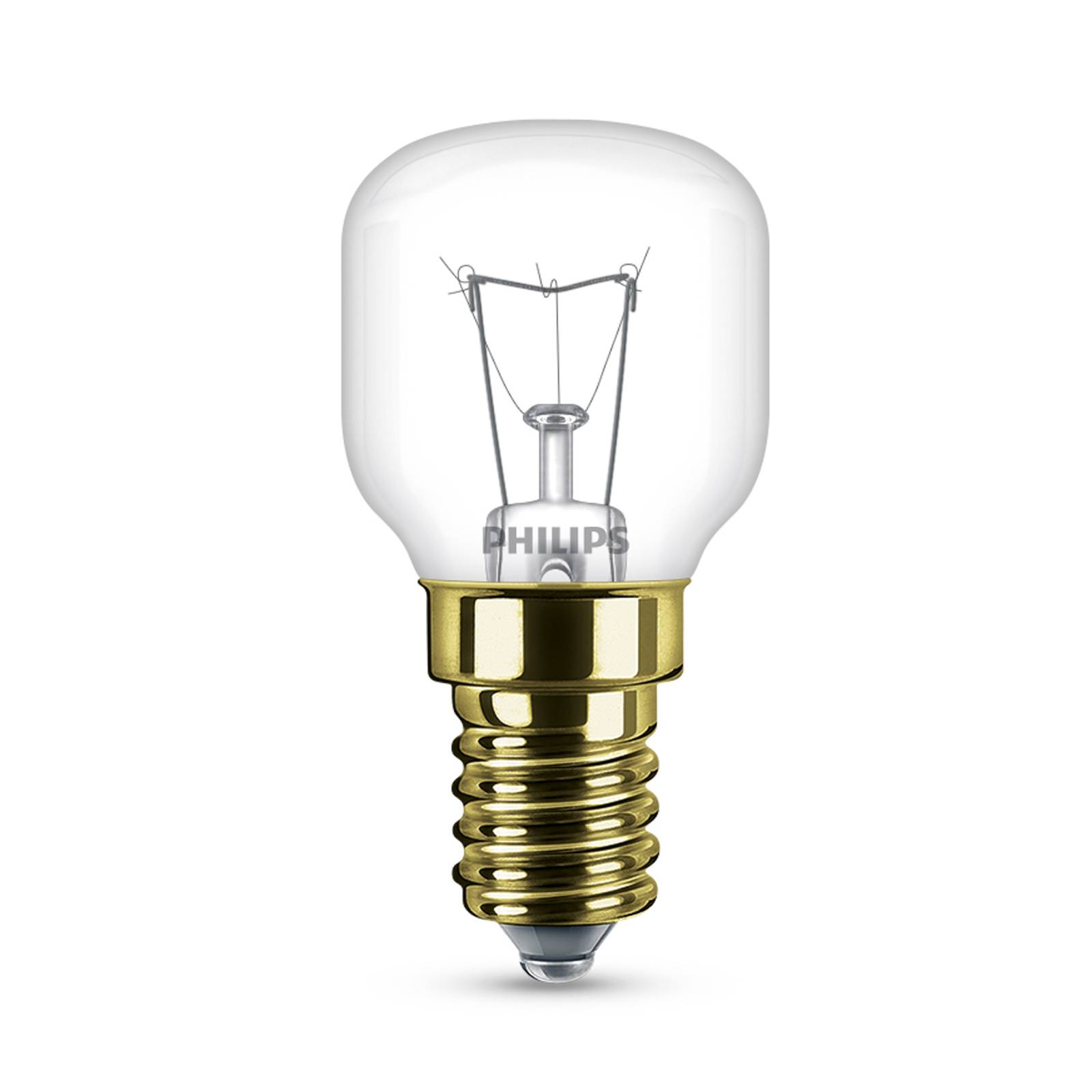 E14 40W tear bulb clear up to 300° for ovens from Philips