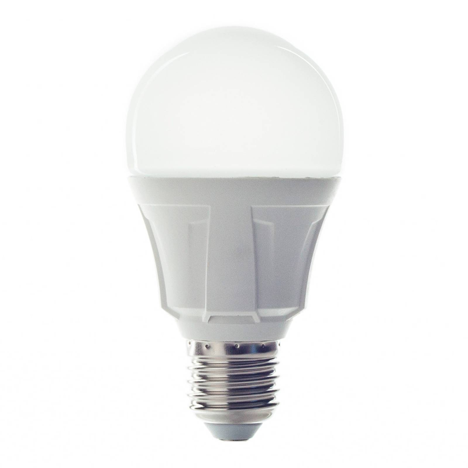 E27 9 W 830 LED bulb, warm white from Lindby