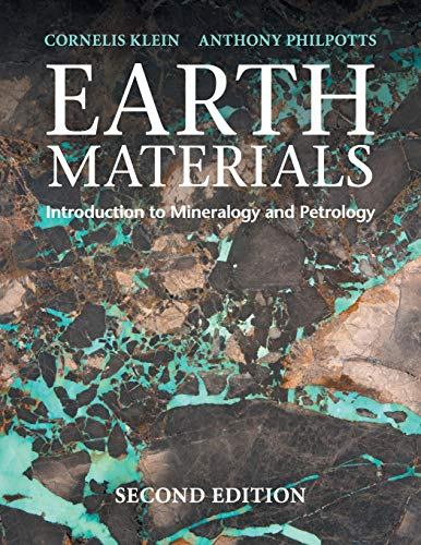 Earth Materials from Cambridge University Press
