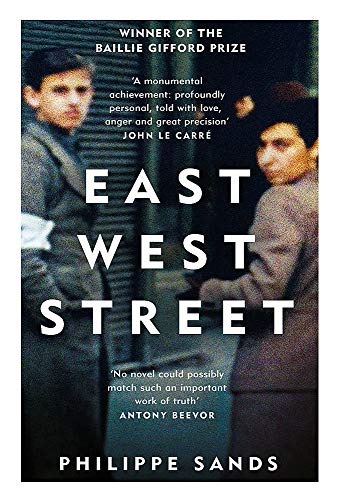East West Street: Non-fiction Book of the Year 2017 from W&N
