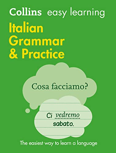 Easy Learning Italian Grammar and Practice (Collins Easy Learning Italian) from Collins