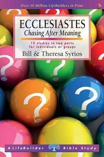 Ecclesiastes (Lifebuilder Study Guides): Chasing After Meaning (Lifebuilder Bible Study Guides) from IVP