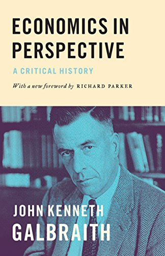 Economics in Perspective: A Critical History from Princeton University Press