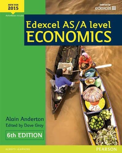 Edexcel AS/A Level Economics Student book + Active Book (Edexcel GCE Economics 2015) from Edexcel Limited