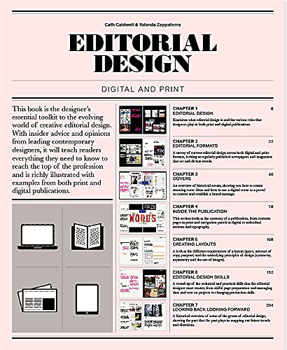 Editorial Design: Digital and Print from Laurence