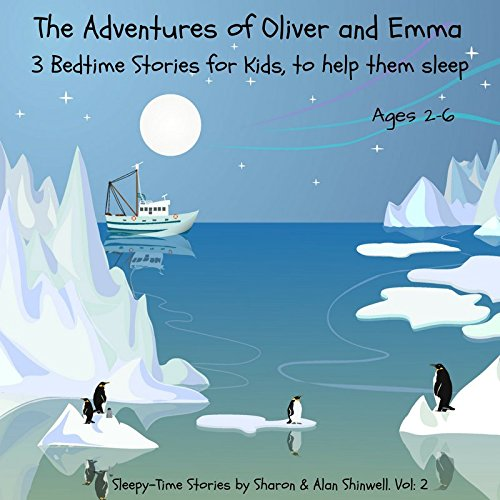 Bedtime Stories for Children 2-6 years old to help them sleep. Oliver and Emma. Audio CD. 3 magical stories lasting over 1 hour Contains music and sound effects to get your child's attention. Designed to help kids fall into a gentle, peaceful sleep. Perfect for long journeys. CD from Here To Listen Ltd CDs and Downloads