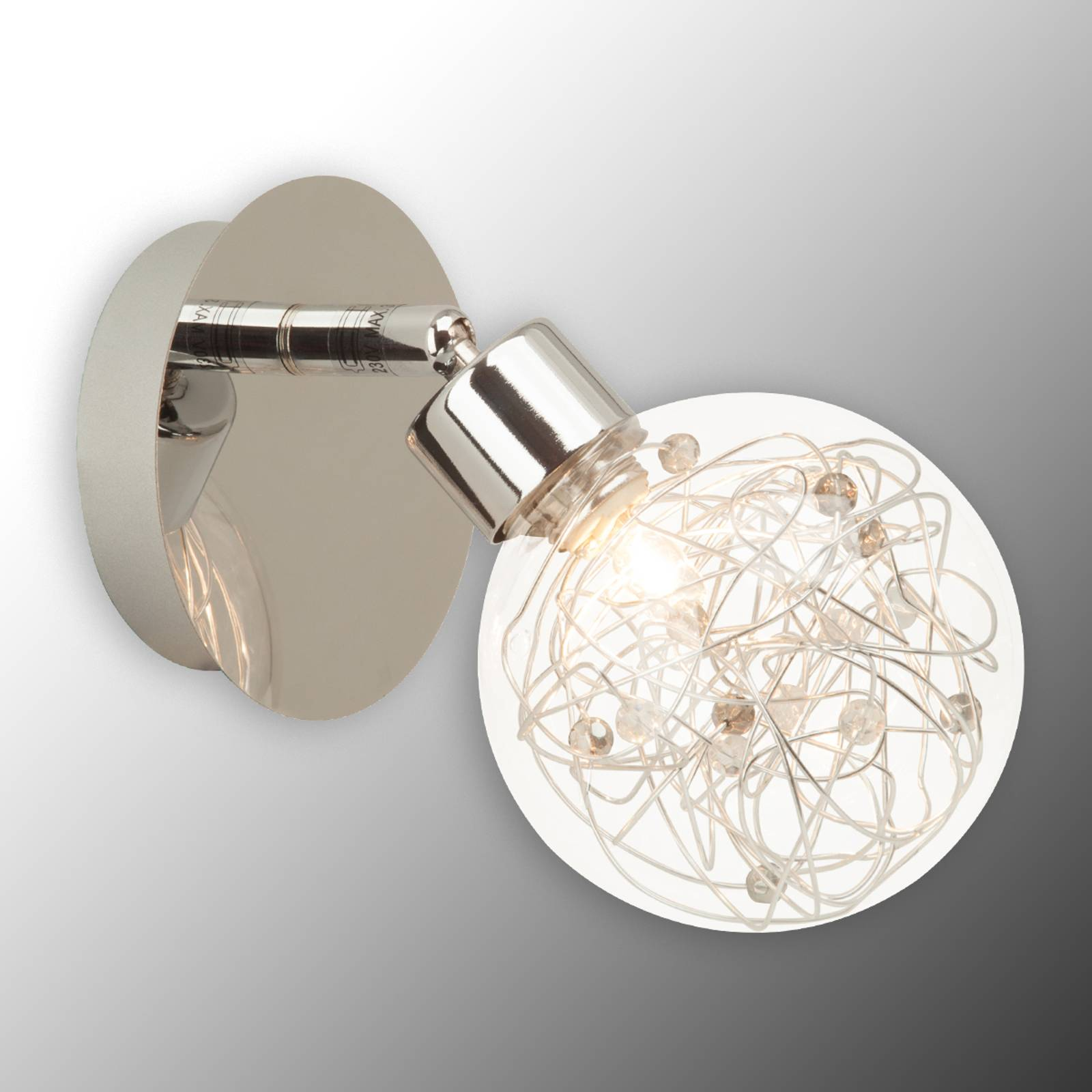 Effective wall light Joya from Brilliant