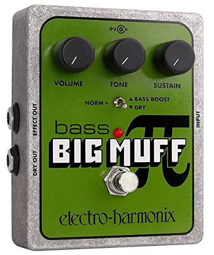 Electro-Harmonix Bass Big Muff Distortion Pedal from electro-harmonix