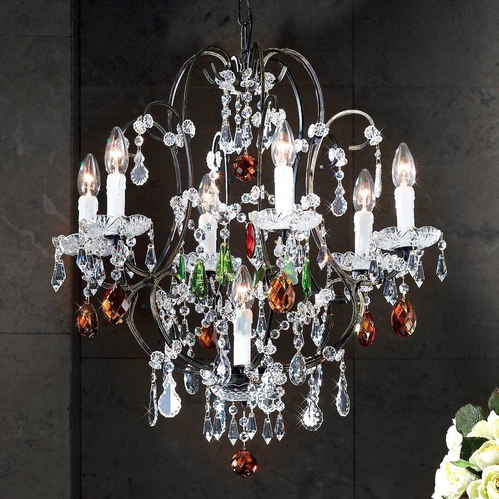 Eliara Chandelier Venetian Style from Orion