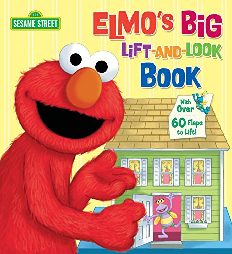 Elmo's Big Lift-And-Look Book (Sesame Street) (Great Big Board Book) from Random House Books for Young Readers