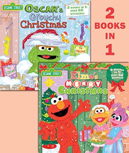 Elmo's Merry Christmas/Oscar's Grouchy Christmas (Sesame Street) (Pictureback(r)) from Random House Books for Young Readers