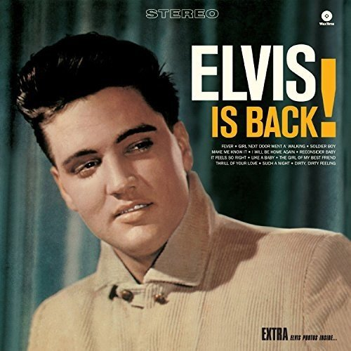 Elvis is Back! + 4 bonus tracks (180g) Gatefold Edition [VINYL]