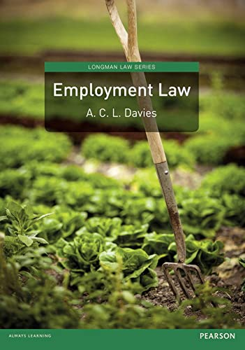Employment Law (Longman Law Series) from Pearson