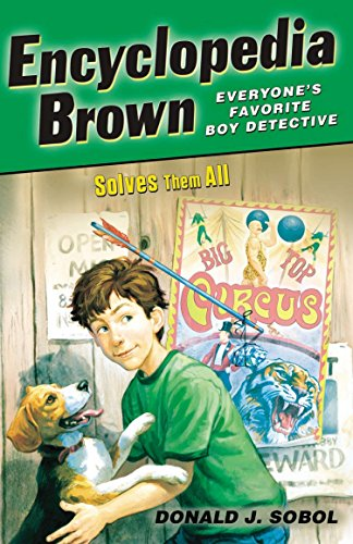 Encyclopedia Brown #05 Solves Them All from Puffin Books