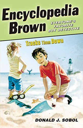 Encyclopedia Brown Tracks Them Down: 08 from Puffin Books