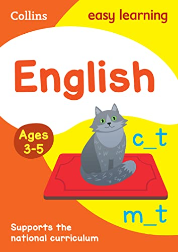 English Ages 3-5: New Edition: motivating English practice for reception year (Collins Easy Learning Preschool) from HarperCollins Publishers