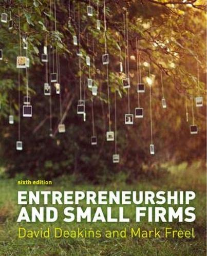 Entrepreneurship and Small Firms (UK Higher Education Business Management) from McGraw-Hill Education