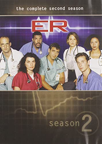 Er: Complete Second Season [DVD] [Region 1] [US Import] [NTSC] from Warner Manufacturing