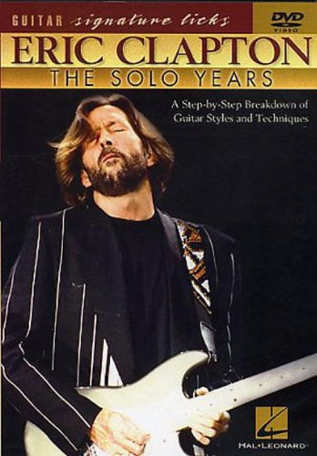 Eric Clapton: The Solo Years [DVD] from Hal Leonard