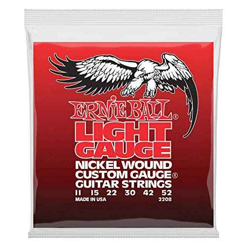 Ernie Ball Light Nickel Wound Set with wound G, .011 - .052 from Ernie Ball