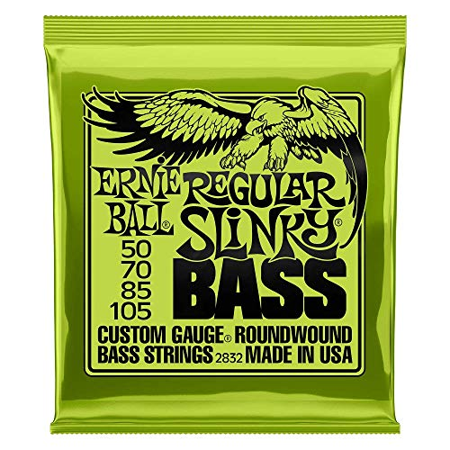 Ernie Ball Regular Slinky Nickel Wound Bass Set, .050 - .105 from Ernie Ball