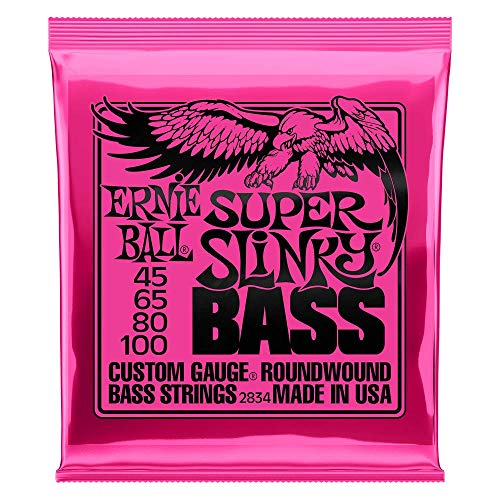 Ernie Ball Super Slinky Nickel Round Wound Bass Set, .045 - .100 from Ernie Ball