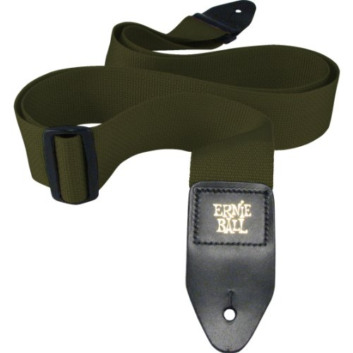 Ernie Ball Olive Polypro Guitar Strap from Ernie Ball