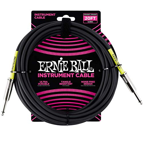 Ernie Ball 6046 Jack Cable from Ernie Ball