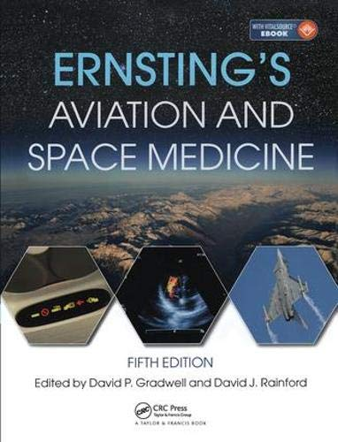 Ernsting's Aviation and Space Medicine 5E from CRC Press