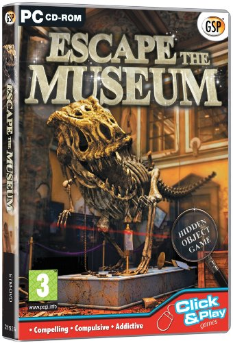 Escape the Museum (PC CD) from Avanquest Software