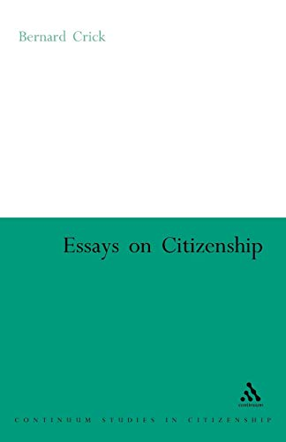 Essays on Citizenship (Continuum Studies in Citizenship Series) from Continuum