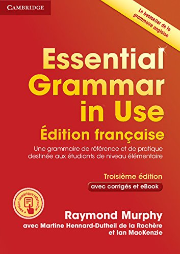Essential Grammar in Use Book with Answers and Interactive ebook French Edition from Cambridge University Press