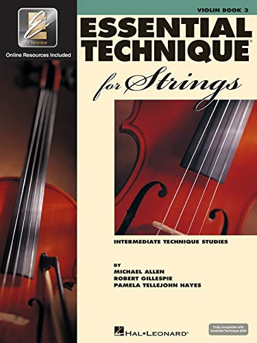 Essential Technique for Strings with Eei: Violin from Hal Leonard