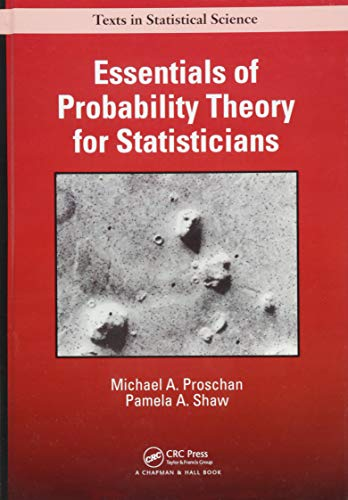 Essentials of Probability Theory for Statisticians (Chapman & Hall/CRC Texts in Statistical Science) from Productivity Press
